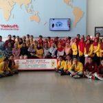 """Kunjungan Industri Minuman Probiotik """"Yakult"""" Mojokerto Jawa Timur"""